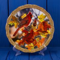 Тарелка THE BRADFORD EXCHANGE 1775 B Autumn Mirage