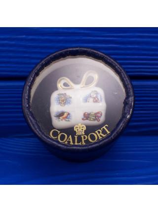 Елочная игрушка Coalport из фарфора в подарочной коробочке #2
