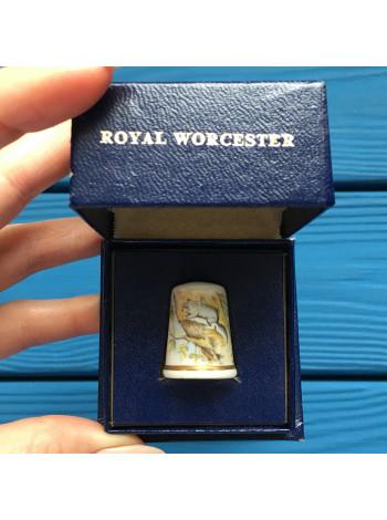 Наперсток Royal Worcester в оригинальной коробочке