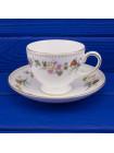 Сервиз Wedgwood ДИЗАЙН MIRABELLE из 8-ми чайных пар с молочником
