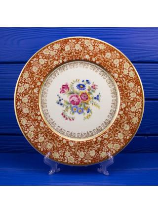 Тарелка Limoges с цветами