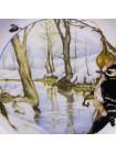 Тарелка ARZBERG January Lesser Spotted Woodpecker