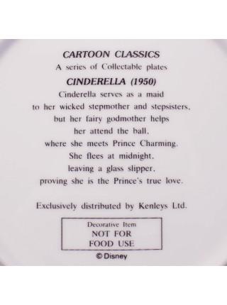 Тарелка DISNEY CINDERELLA (1950) серия CARTOON CLASSICS