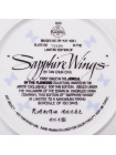 """Тарелка KNOWLES, Edvin M. 7953G """"Sapphire Wings"""""""