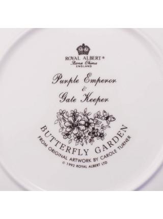 Тарелка ROYAL ALBERT Purple Emperor & Gate Keeper