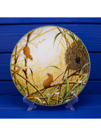 Тарелка Royal Doulton 2701 A Harvest Mice at Their Nest