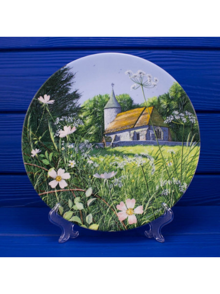 Тарелка Royal Doulton 4124 А CHURCH BY THE MEADOW