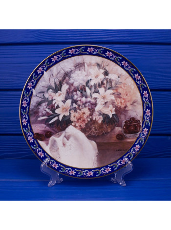 """Тарелка W.S.GEORGE 18776 A """"Lilies"""""""