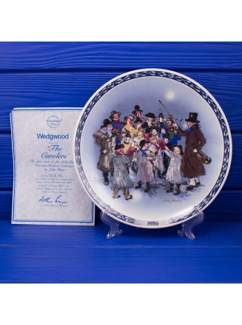 Тарелка Wedgwood № 9151B The Carolers