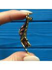 Брошь бабочка, украшенная эмалью