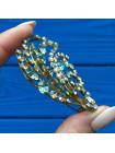 Брошь, украшенная кристаллами Aurora Borealis #3