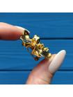 Брошь-подвеска Орхидея из Сингапура золото 22 карат