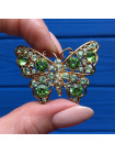 Брошь в форме бабочки