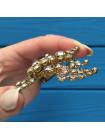 Брошь, украшенная кристаллами Aurora Borealis #2