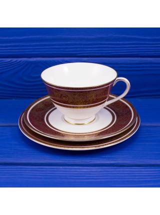 Чайное трио Royal Doulton ДИЗАЙНBUCKINGHAM