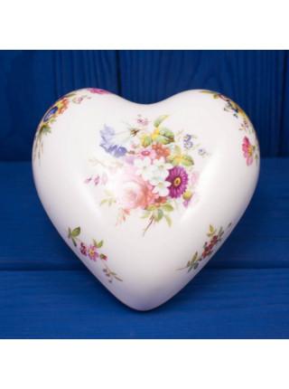 Шкатулка Hammersley в форме сердца #2