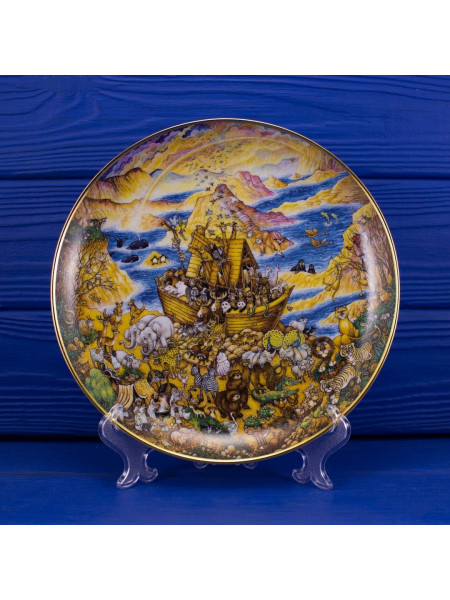 Тарелка FRANKLIN MINT № GA1439 Two By Two