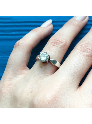 Серебряное кольцо из Англии