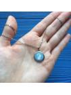 Роскошная винтажная подвеска от Wedgwood - голубой джаспер в серебре!