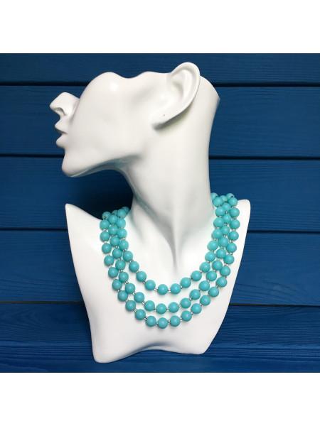 Очаровательное винтажное ожерелье с элегантной застежкой