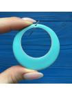 Эффектные серьги кольца