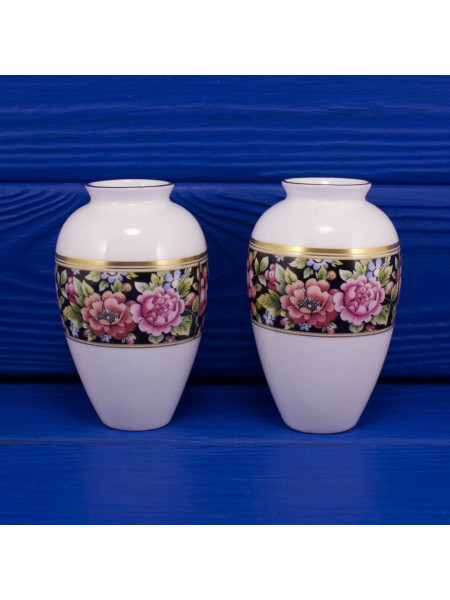 Пара миниатюрных ваз Wedgwood дизайн CLIO⠀