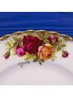 Тарелка ROYAL ALBERT дизайн OLD COUNTRY ROSES⠀