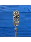 Нарядная коллекционная серебряная ложечка