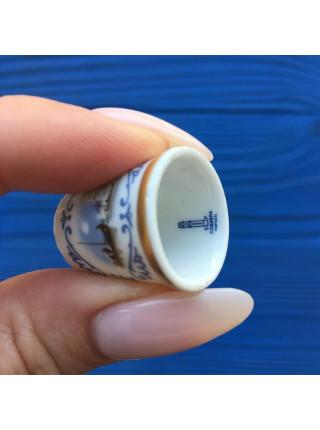 Коллекционный наперсток из Португалии в оригинальной коробочке