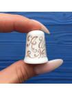 """Коллекционный наперсток Crown Staffs серия пословиц """"Кто над чайником стоит, у того он не кипит"""""""