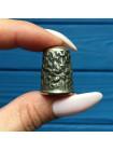 Винтажный серебряный наперсток