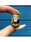 Коллекционный наперсток клуазоне с изображением милого пса