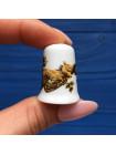 Коллекционный наперсток из костяного фарфора #4