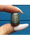 Винтажный серебряный наперсток, произведенный в Лондоне