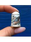 Наперсток Franklin Mint серия с изображением птиц с их латинским названием #4