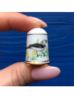 Наперсток Franklin Mint серия с изображением птиц с их латинским названием #11