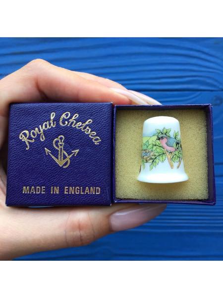 Коллекционный наперсток от Royal Chelsea в оригинальной коробочке