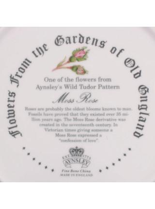 Тарелка Aynsley Moss Rose (Мускусная роза)