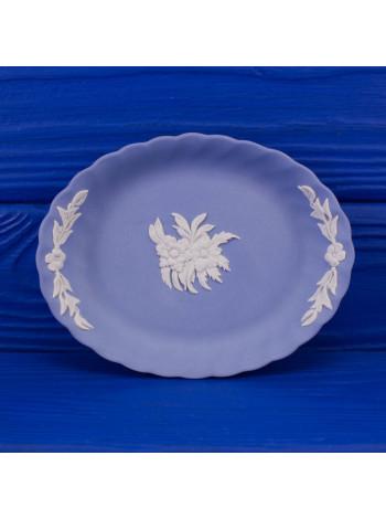 Блюдце Wedgwood овальное с волнистыми краями