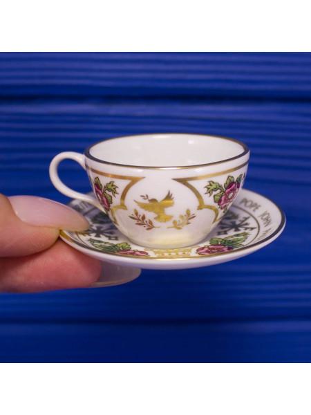 Миниатюрная чайная пара от SPODE #2