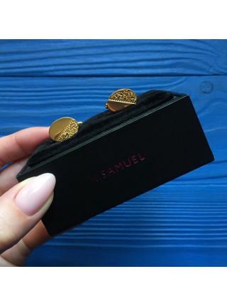 Элегантные запонки от H. SAMUEL в оригинальной коробочке
