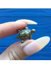 Винтажный значок черепашка