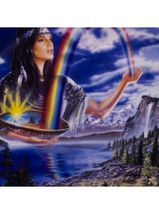 """Тарелка Franklin Mint ma7106 """"Rainbow Maiden"""" с сертификатом"""