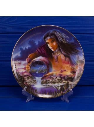 """Тарелка Franklin Mint mb4380 """"The Waters of Life"""""""