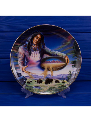 """Тарелка Franklin Mint ma3261 """"The Harvest of Life"""""""