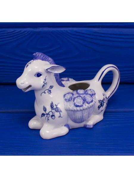 Молочник (сливочник)Franklin Mint Жеребёнок