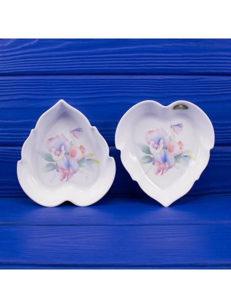 Блюдце сердце AYNSLEY дизайн LITTLE SWEETHEART