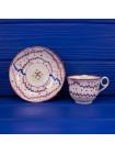 Антикварная чайная пара в стиле стиле Sunderland Lustre