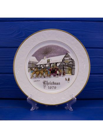 "Тарелка Royal Worcester ""Christmas Eve"""