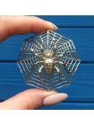 Кулон в форме паука